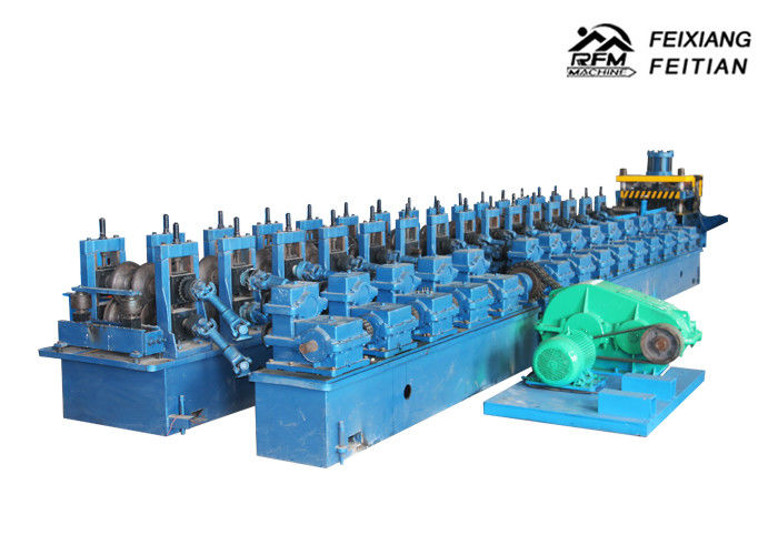 3 - 4mm Thickness Highway Guardrail Roll Forming Machine For Building Material